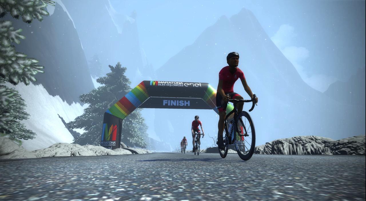 Maratona dles Dolomites-Enel eFondo on Zwift