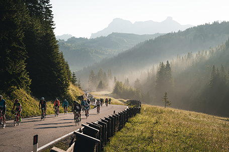 Wiedereröffnung der Strassen für Fahrräder